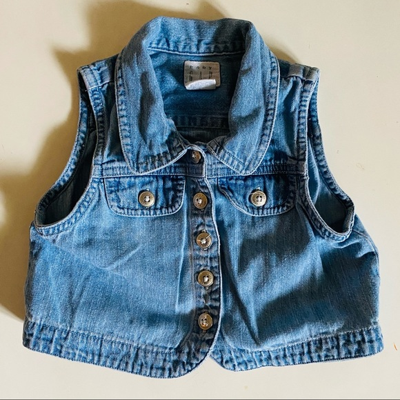 GAP Other - Baby Gap Light Denim Vest 12-24 mo